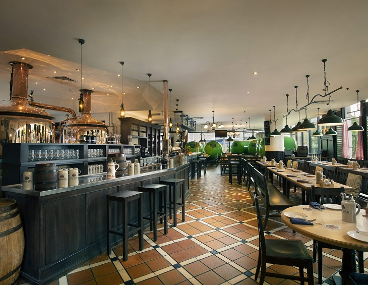 Quirky rustic European bar and restaurant