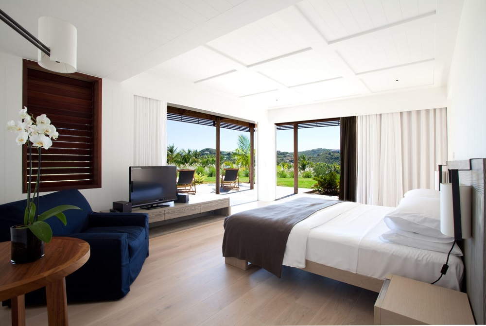 Light, bright a airy look and feel in guestrooms