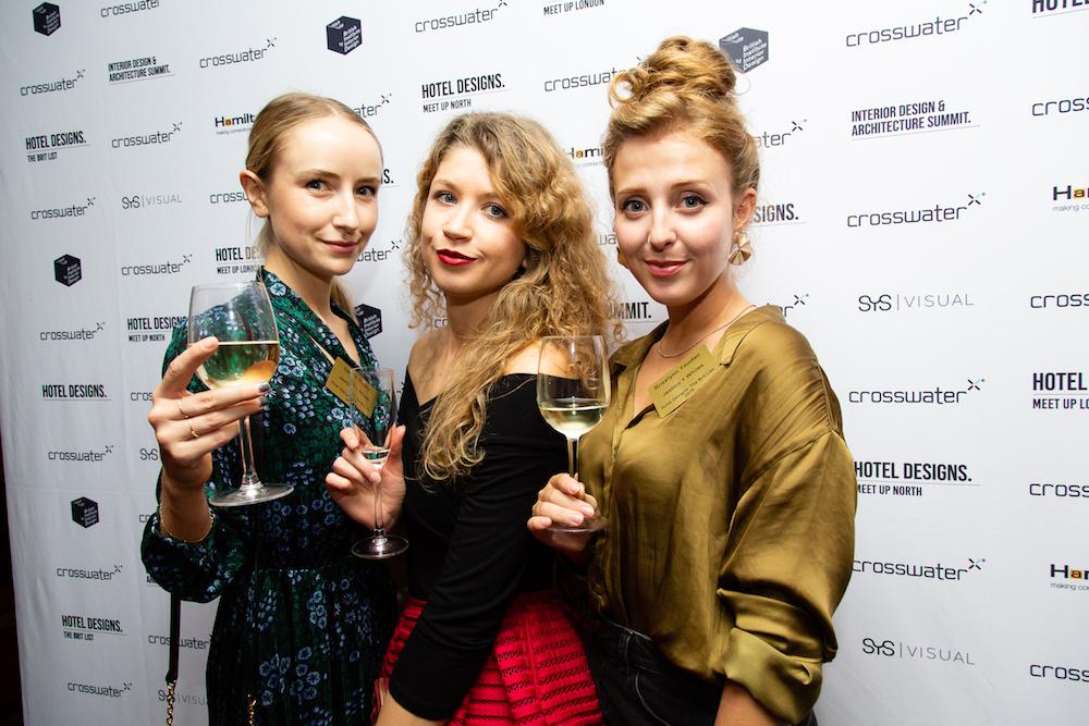Image credit: The glamorous Jestico + Whiles ladies, Vitalise Katine, Sarah Murphy and rosalynn youdan