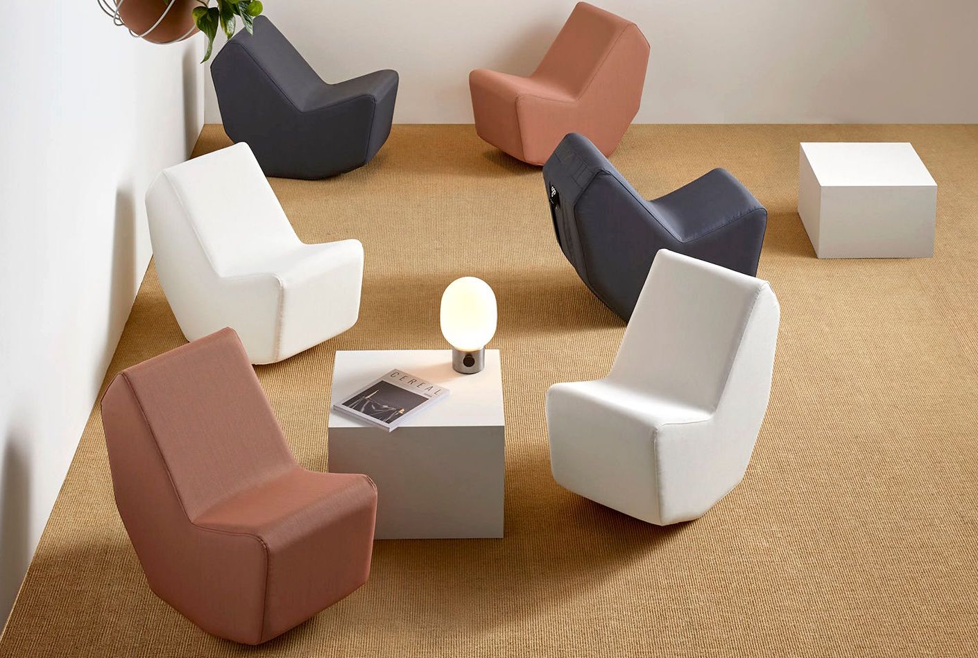 An aray of quirky seats