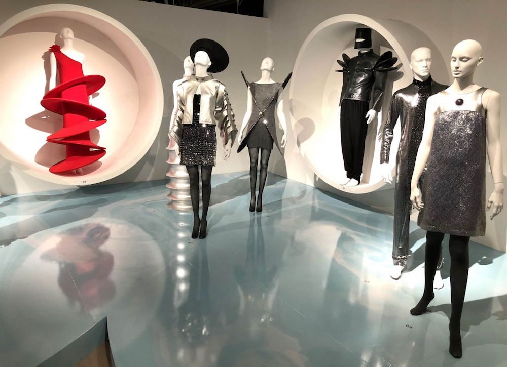 image of mannequins in Pierre Cardin clothes