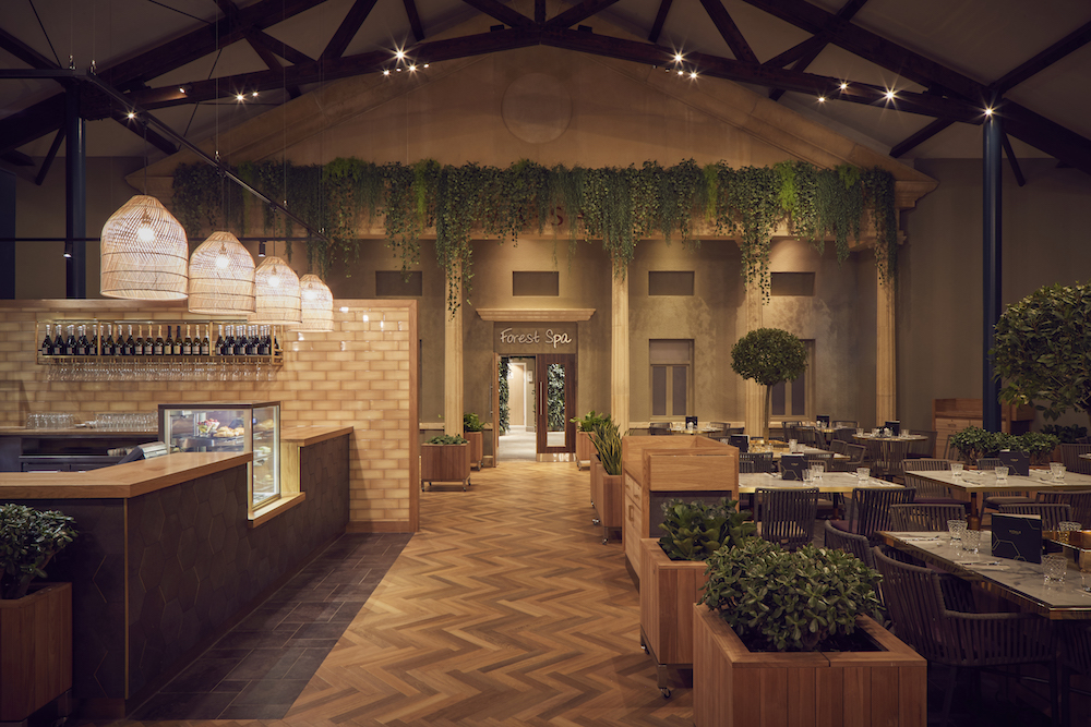 biophilic design in restaurant