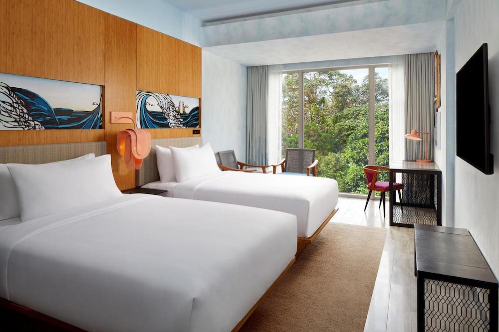 render of luxury guestroom