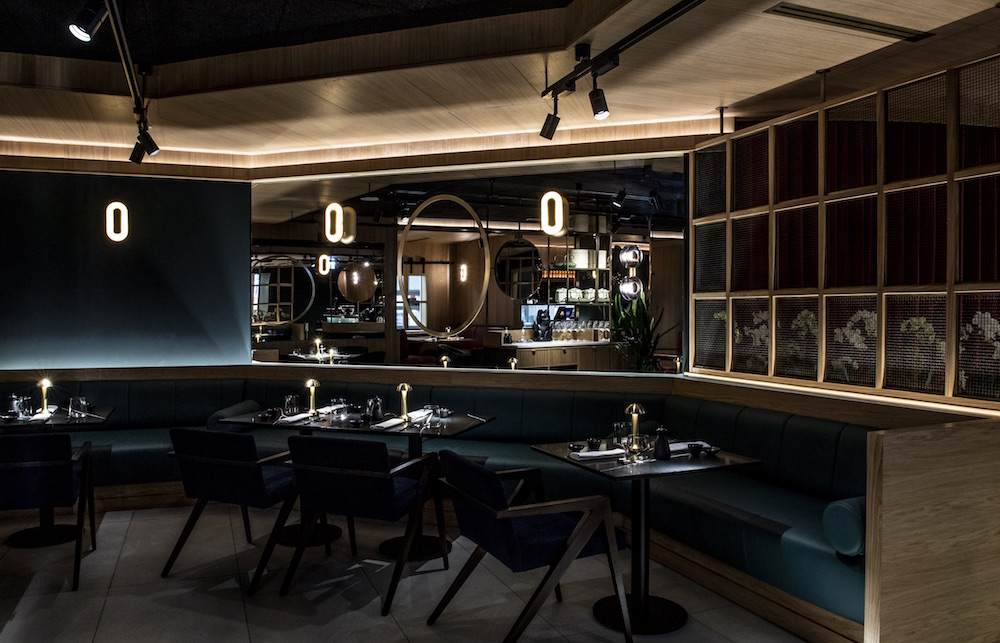 Image credit: The atmospheric restaurant Cucina Mia inside Shertaton Warsaw, designed by Goddard Littlefair