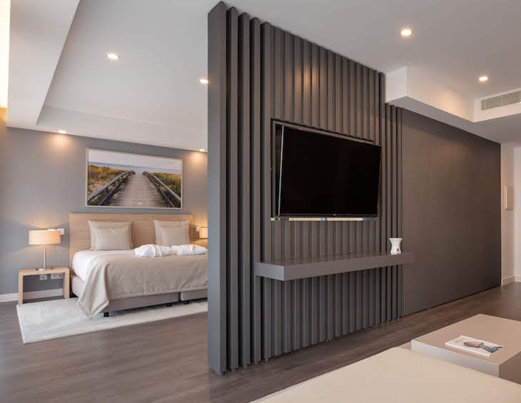 Large, luxe suite