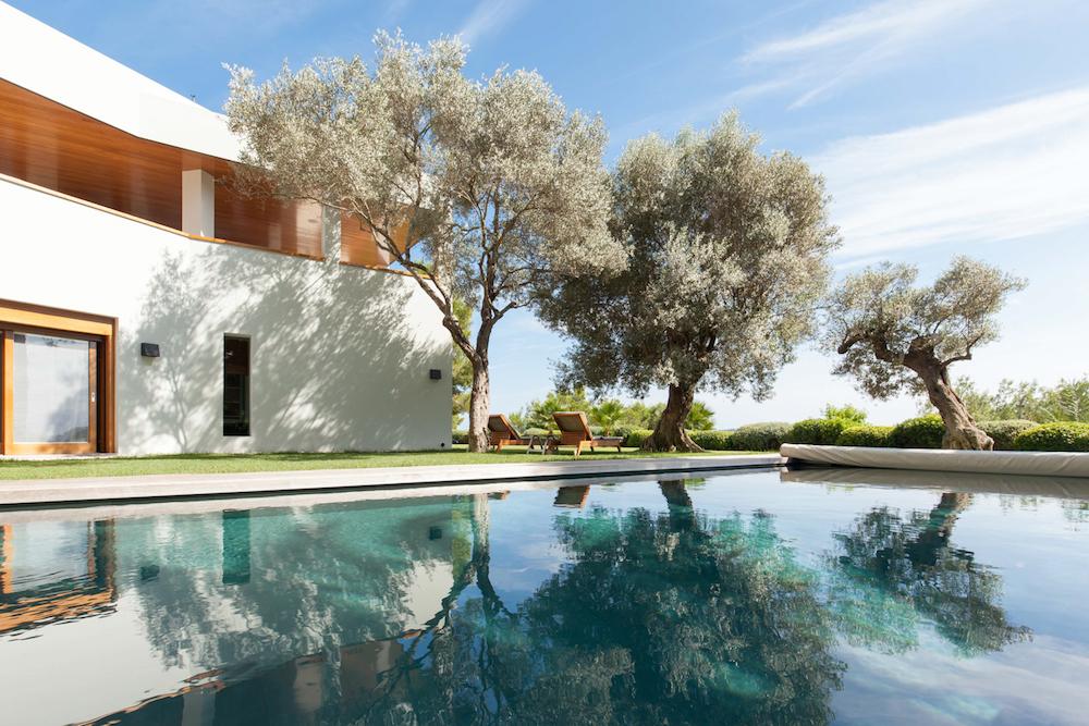 Image caption: A luxury villa in Ibiza | Image credit: Image credit: Brendan Cox/The Tower