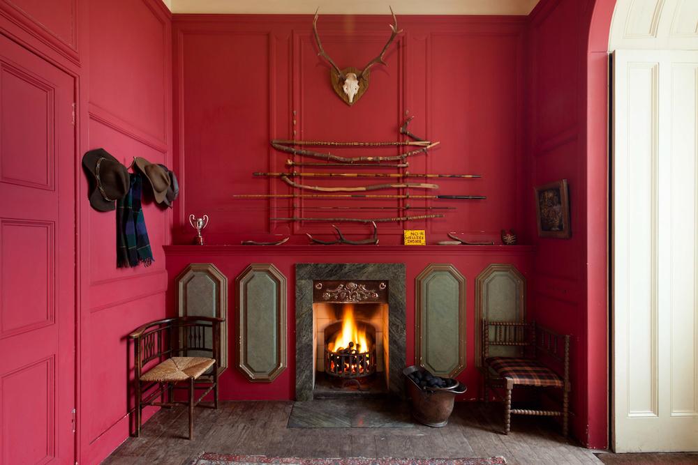 Image caption: Inside Eilean Shona Hotel, Vanessa Branson's island, Scotland | Image credit: Brendan Cox/The Tower