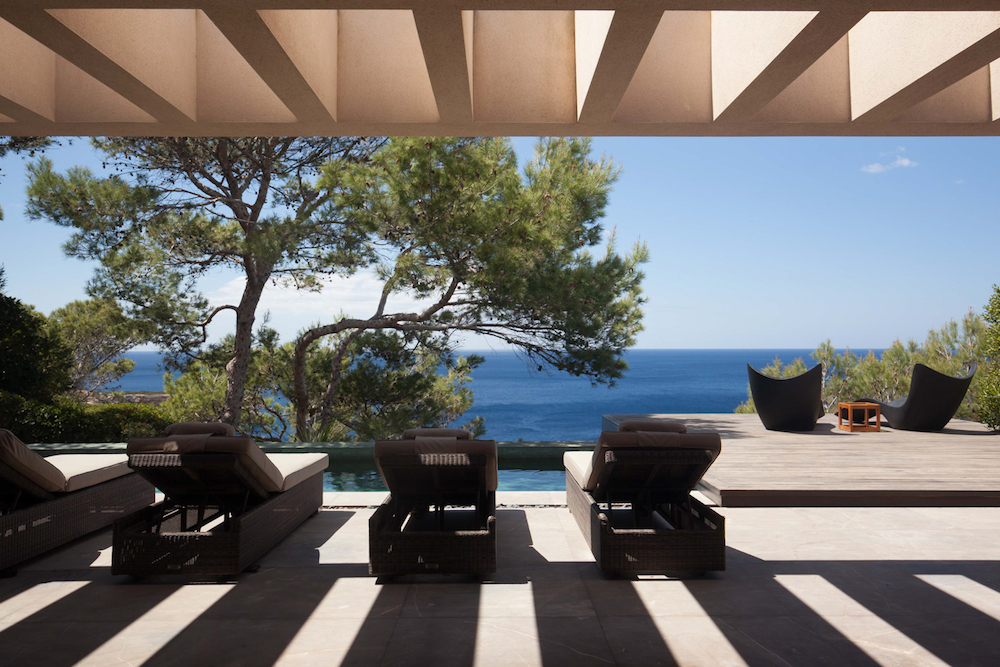 Image caption: Luxury villa in Ibiza: Image credit: Brendan Cox/The Tower