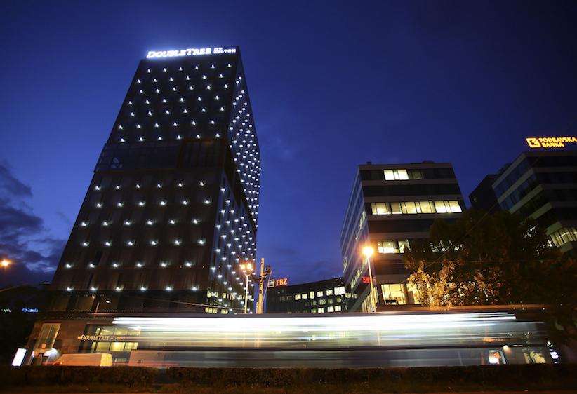 Image caption: Double Tree Hilton - Zagreb