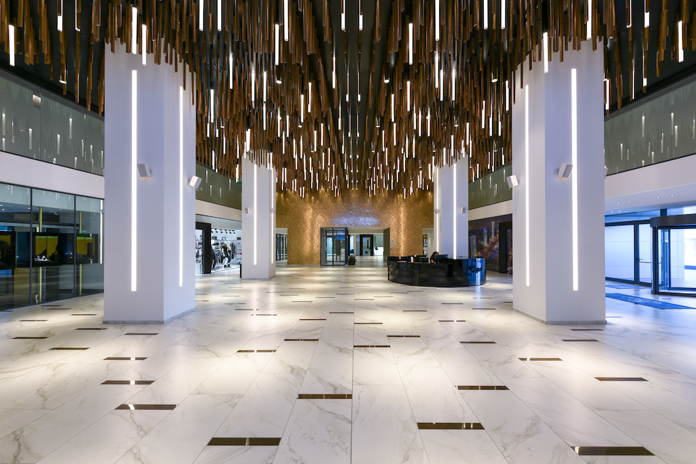 Image caption:Inverted Forest in Radisson Blu in Cyprus, designed by Illumination Physics| Image credit: Unseen Views/Charis Solomou Architectural Photography