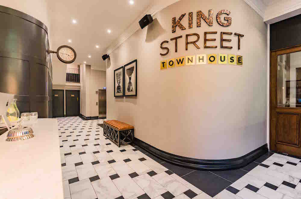 Image caption: CTD Architectural Tiles was specified in King Street Townhouse, Manchester