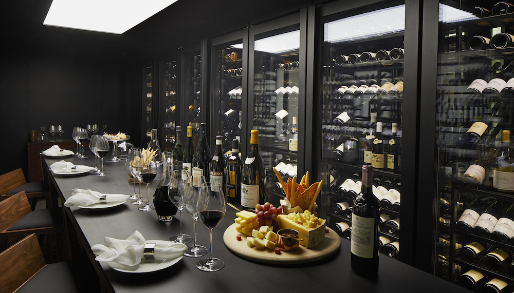 Image caption: The Wine Vault inside The Dorchester (where we would all like to be self-isolating from)