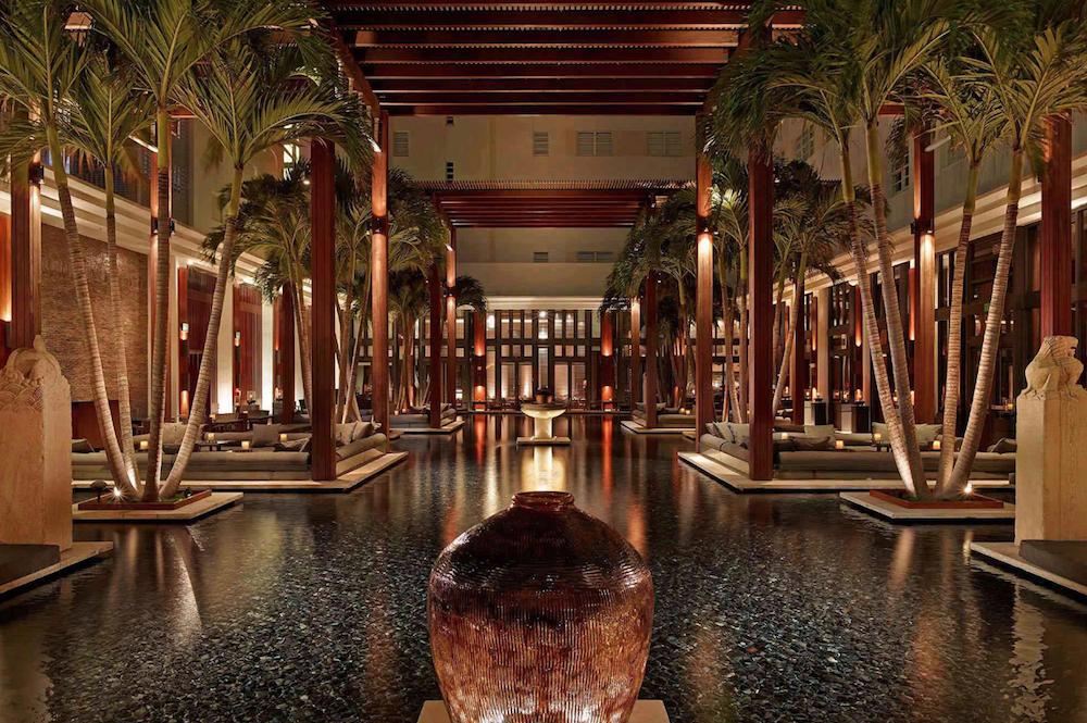 Large, oversized swimming pool