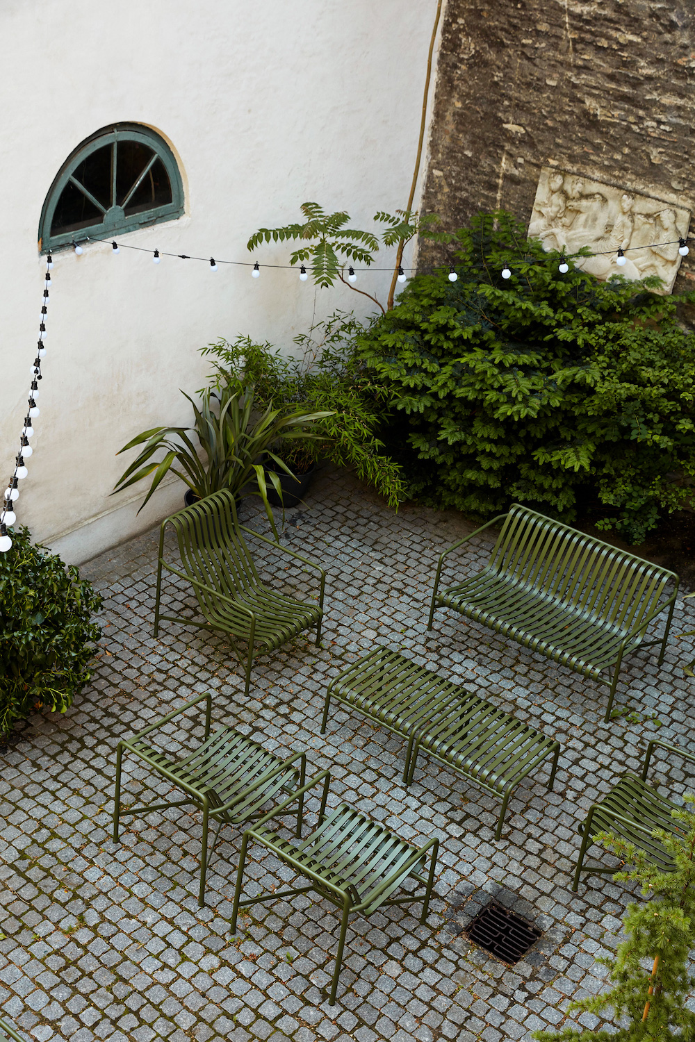 Image caption: Nest's Hay Palissade Outdoor Furniture | Image credit: Nest