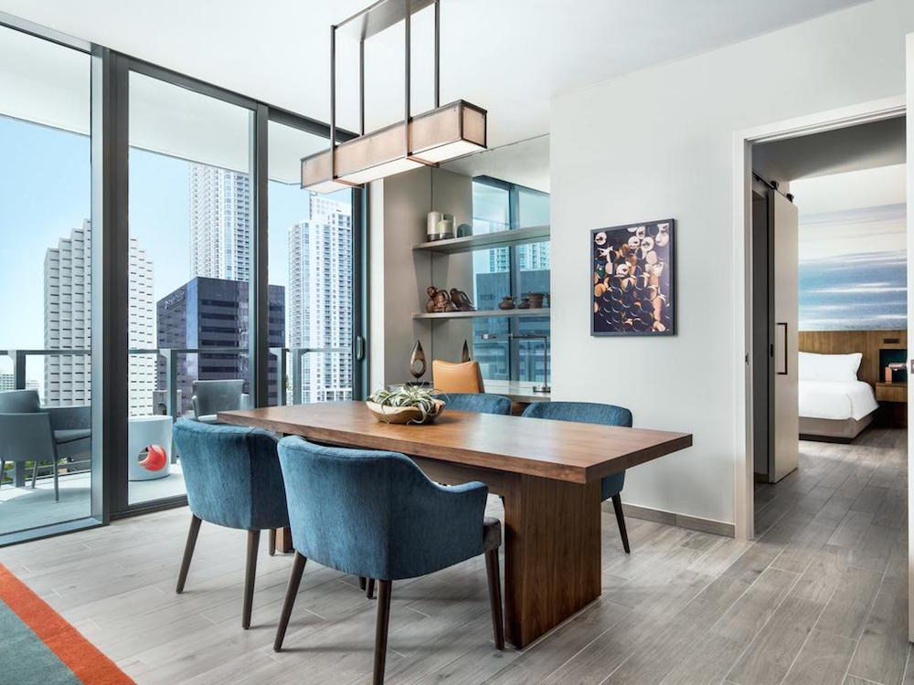 Luxe modern suite