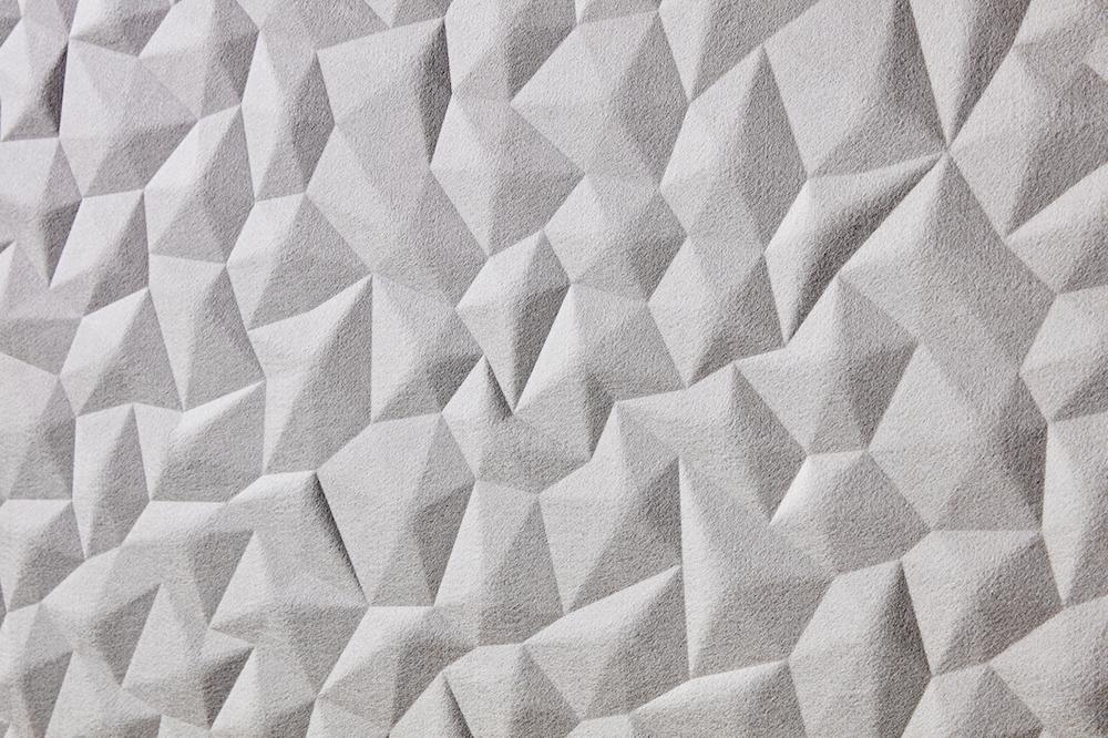 Cream tactile wall