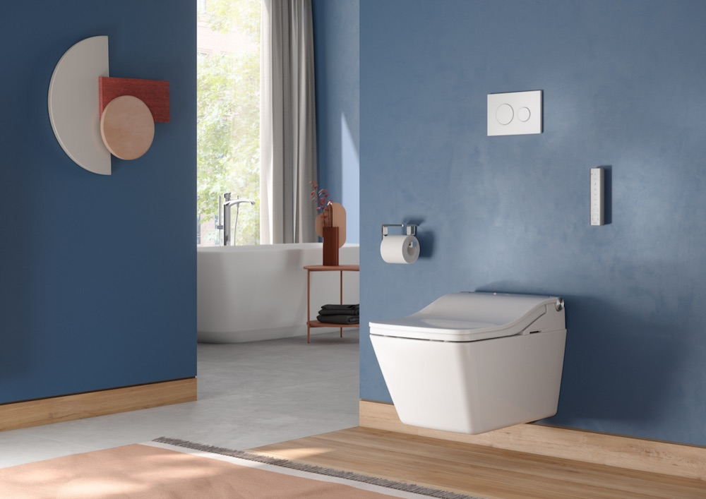 Image caption: THE WASHLET is TOTO's The WASHLET is TOTO's signature product, which launched in 1980, and has evolved to meet modern consumer demands ever since. | Image credit: TOTO
