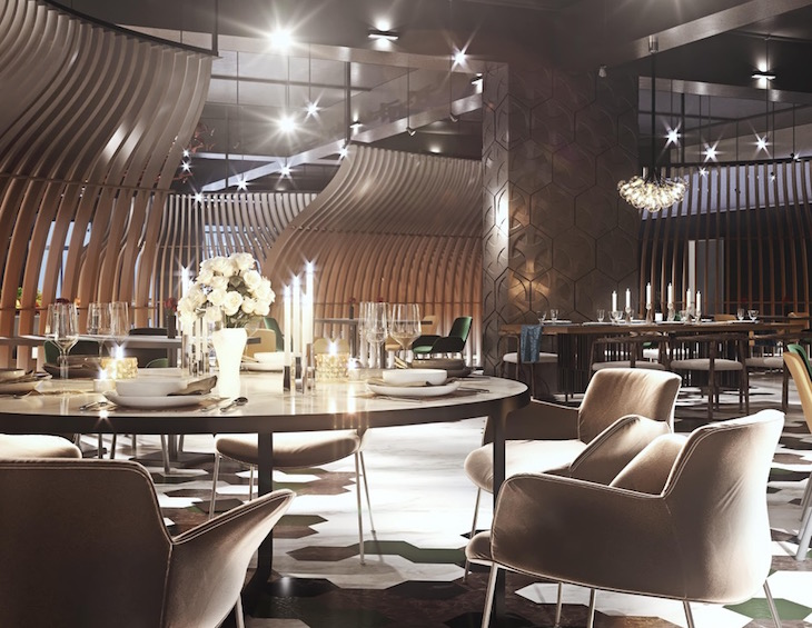 Industry Insight Visualising The Future Of F B Spaces In Hotel Design Hotel Designs