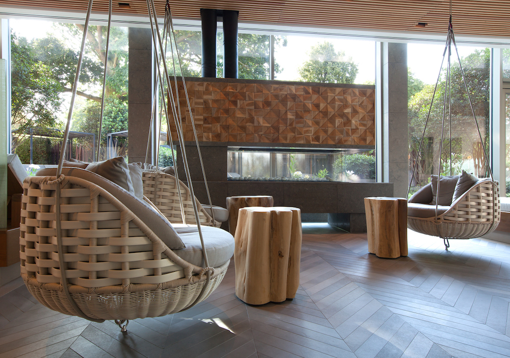 Image credit: Cottonmill Spa at Sopwell House, designed by Sparcstudio