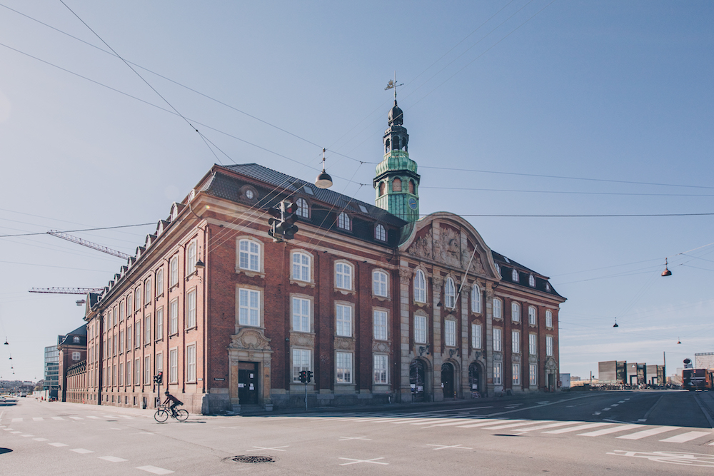 Exterior of the building in Copenhagen