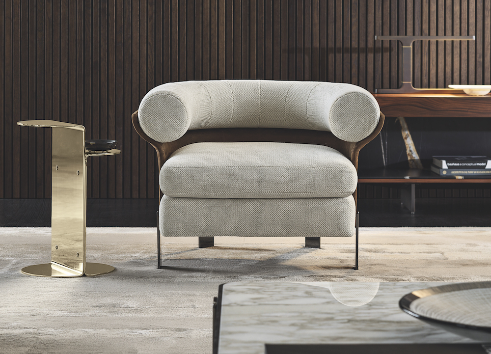 Single Minotti armchair