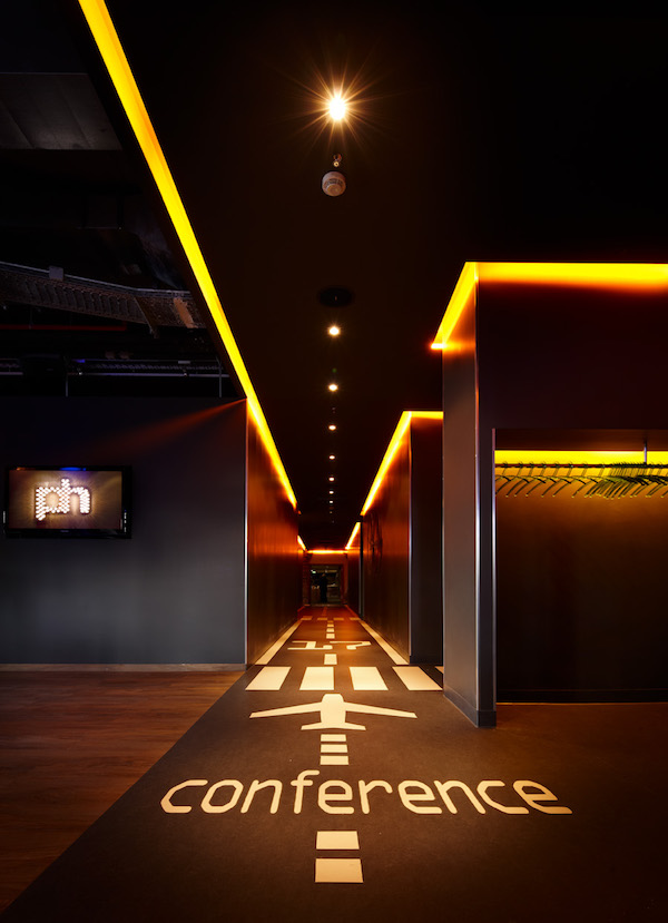 Image caption: Corridor towards meeting area inside Pentahotel Berlin | Image credit: Penta Hotels