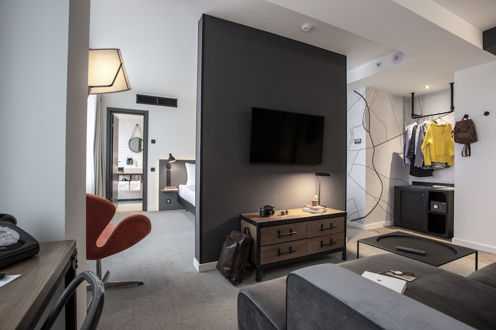 Image caption: Suite inside Pentahotel Moscow | Image credit: Penta Hotels