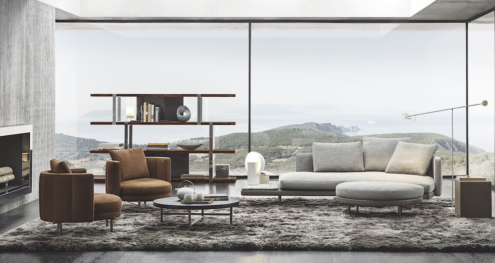 Luxury interiors with Minotti products
