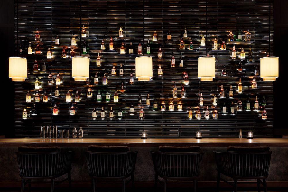 A minimalist bar