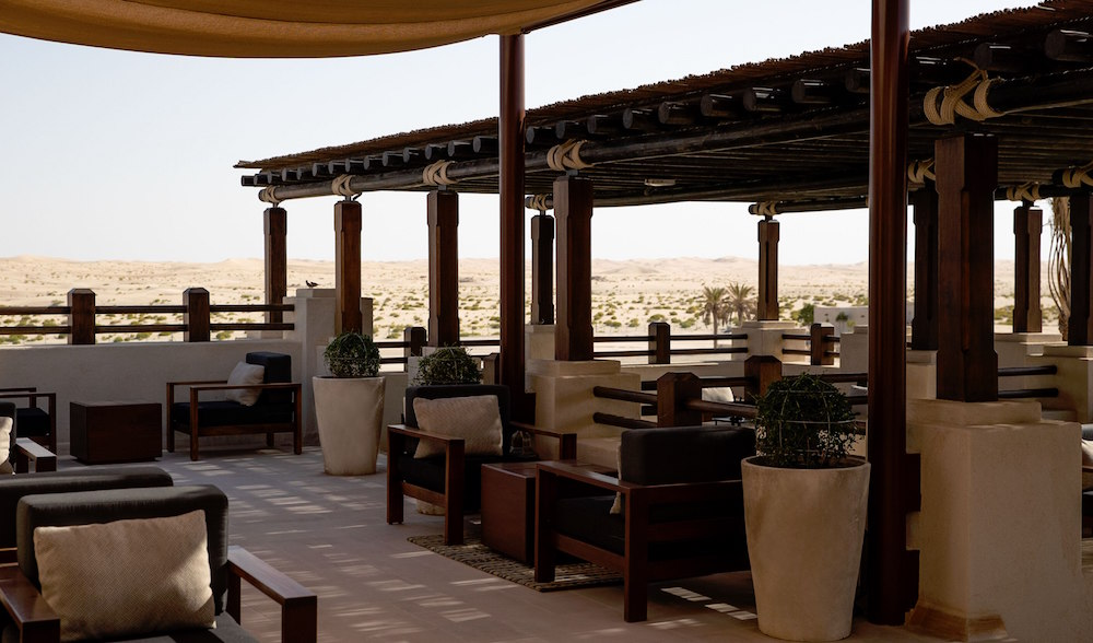 Arabian style F&B area
