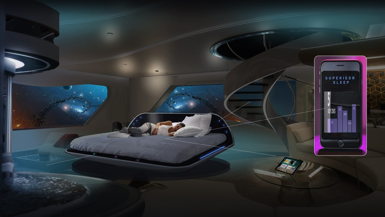 The (potential) future of hotel sleep, as imagined by Gettys Group