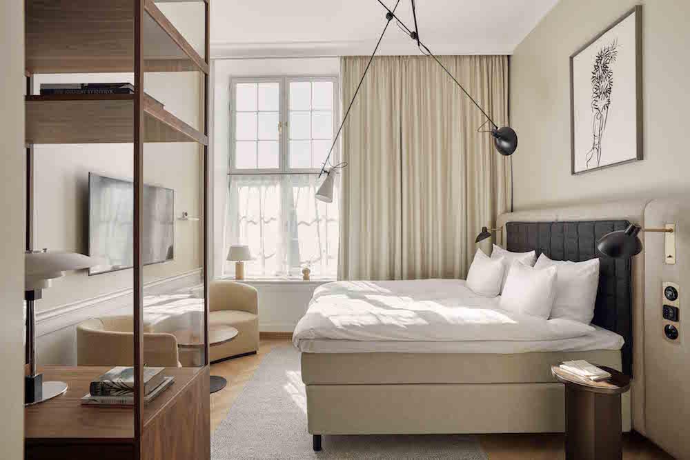 Image caption: Delux guestroom | Image credit: Villa Copenhagen