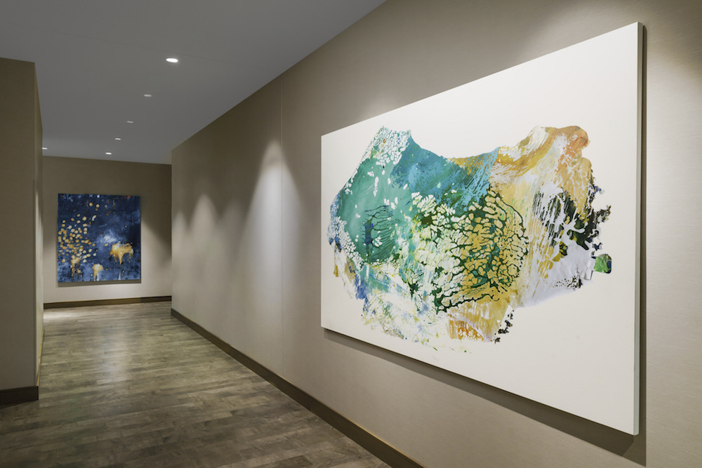 Image of an art exhibition