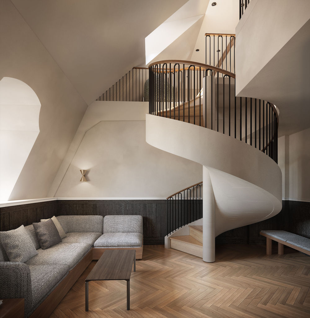 Image caption: Universal Penthouse Suite | Image credit: Villa Copenhagen