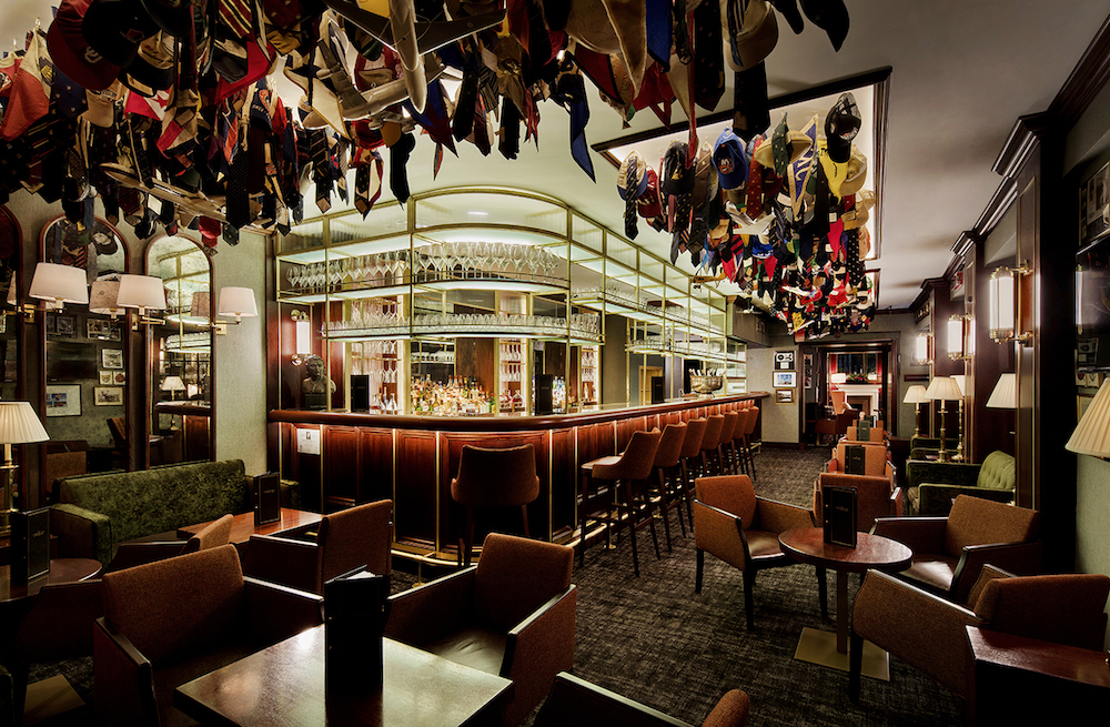 Image caption: The American Bar inside The Stafford London. | Image credit: Rosendale Design