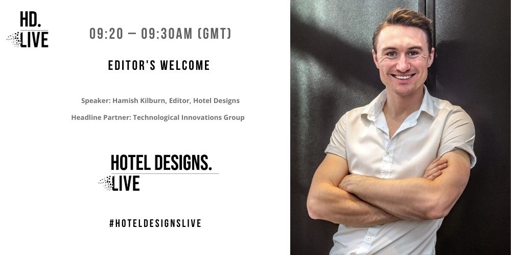 Programme for Hotel Designs LIVE - editor's welcome