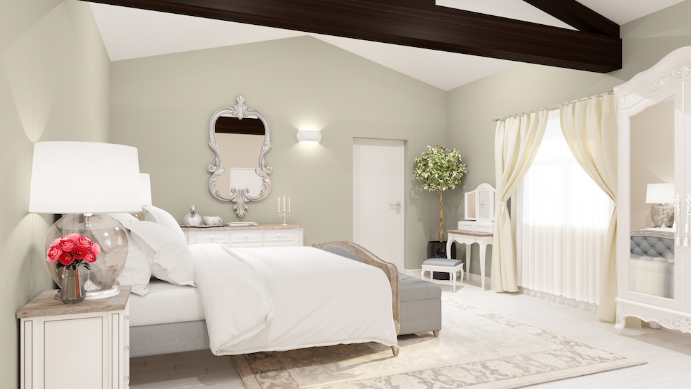 Modern bedrooms inside La Vue