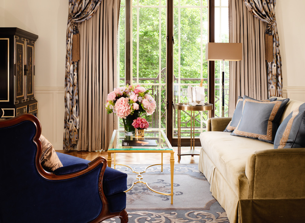Image caption: The Dorchester Belgravia Suite living room | Image credit: The Dorchester