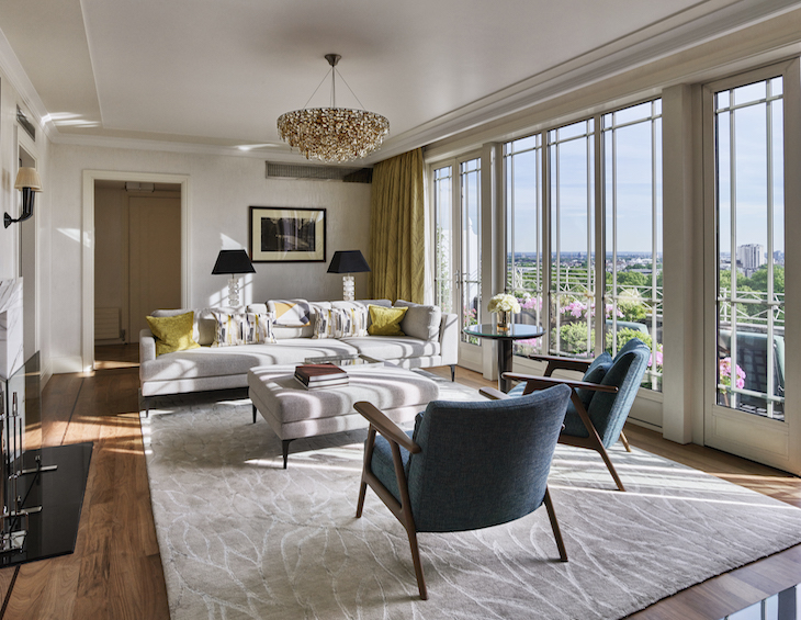 The Dorchester Terrace Penthouse living room