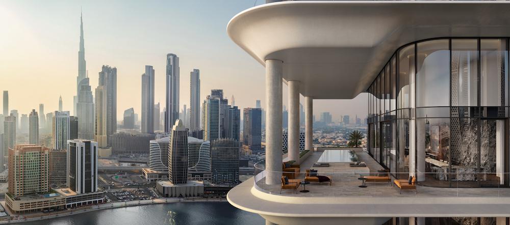 The Residences Dorchester Collection Dubai Terrace