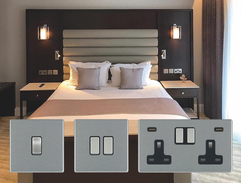 Suite inside Crow Wood Hotel