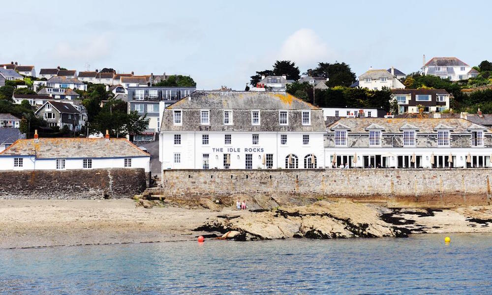 Image of exterior of The Idle Rocks St Mawes