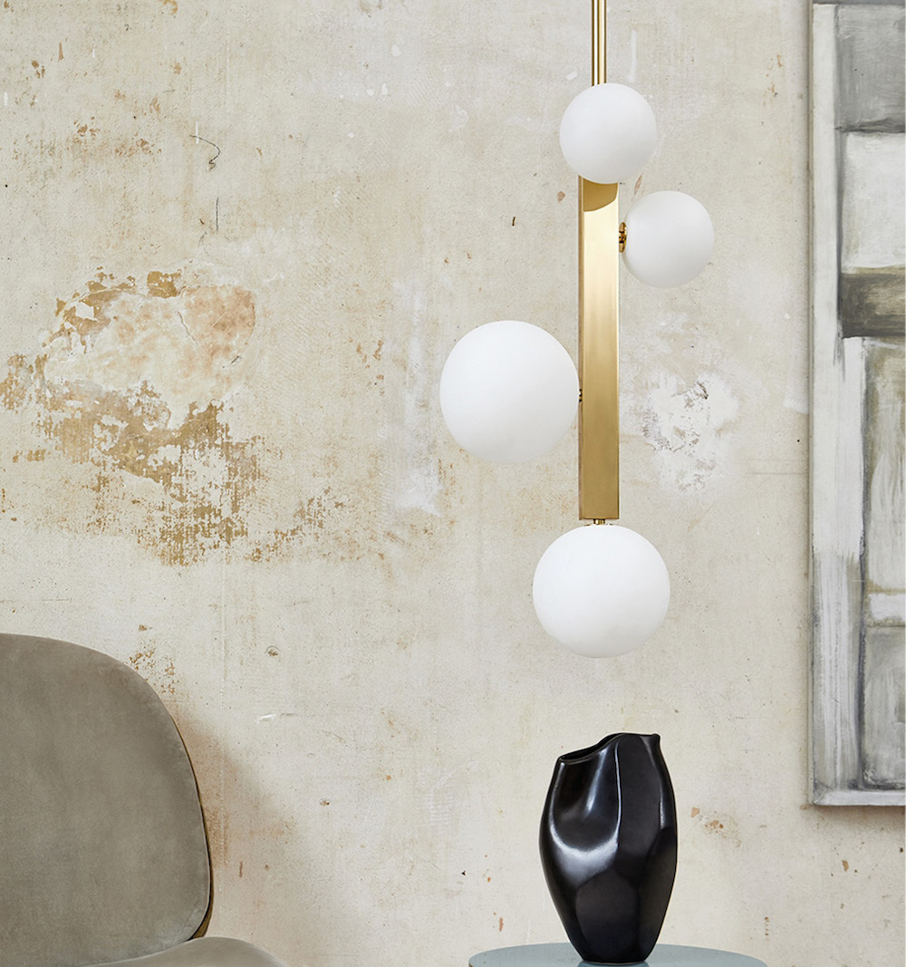 Vermeer Pendant in the Pearl Collection Image credit Heathfield & Co