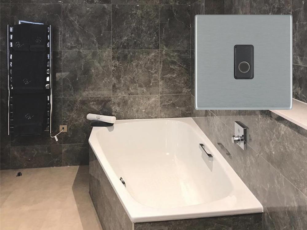 Final Master Bathroom inside Crow Wood Hotel & Resort