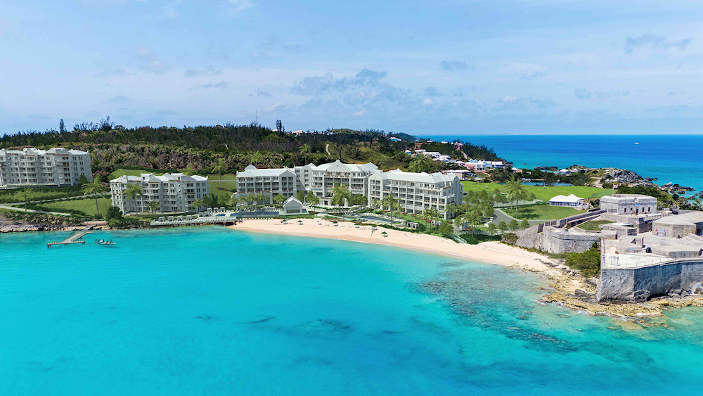 Establishing image of the St Regis hotel in Bermuda