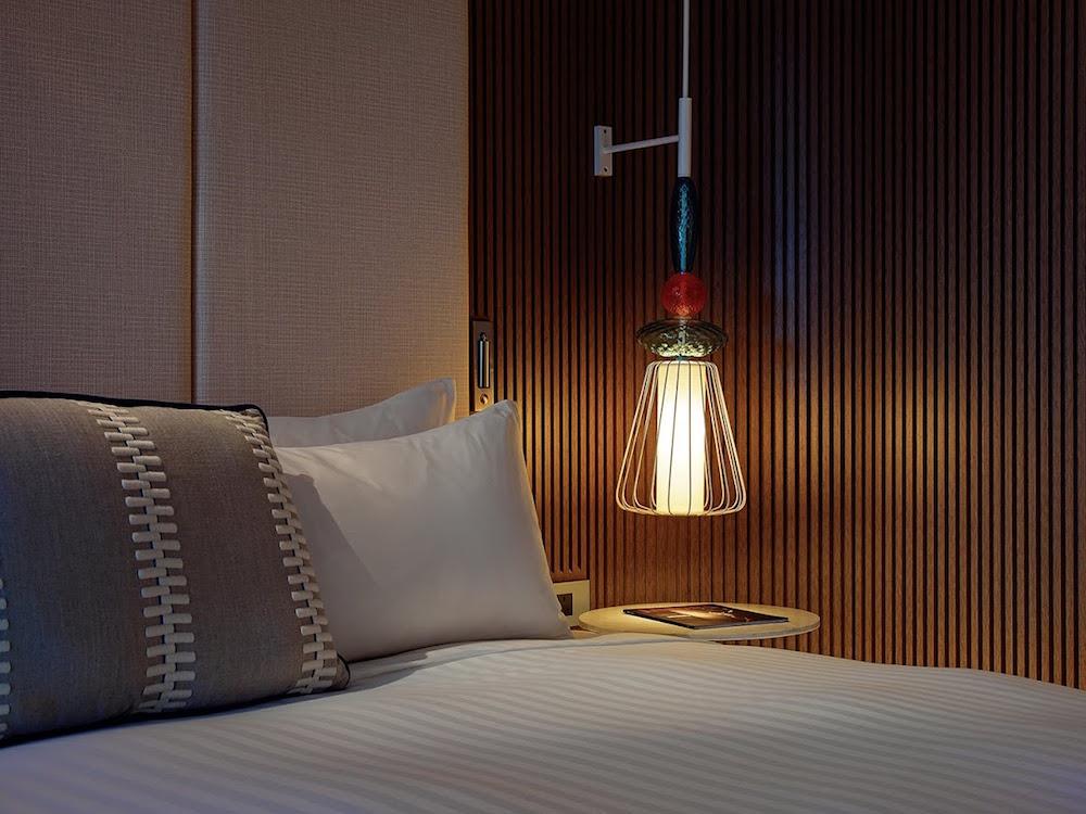 Close up of bed - Marriott Malta