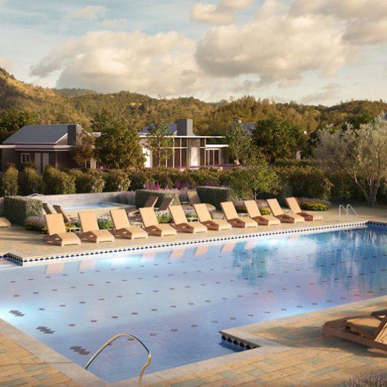 Image render of outdoor pool