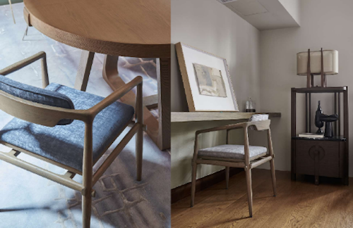A selection of André Fu furniture