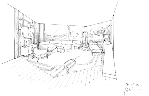 A sketch of The Upper House