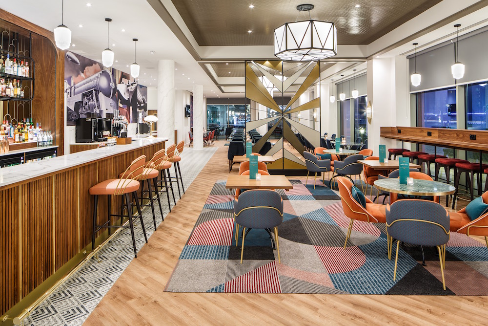 An image of lobby/lounge inside ibis hotel
